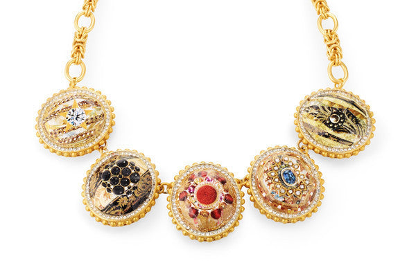 "Statement Necklace <br> ""Royal Wedding"""