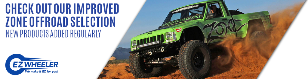 Zone Offroad Selection Banner