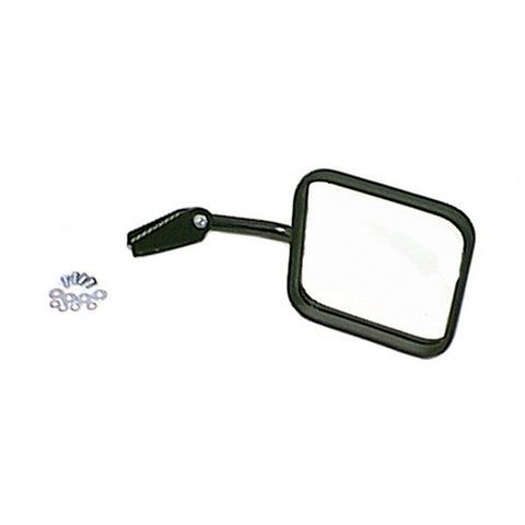 Mirror Head Arm with Convex Mirror, Right Side; 55-86 Jeep CJ Models - EZ Wheeler