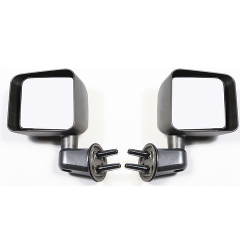 Door Mirror Kit, Black; 07-17 Jeep Wrangler JK - EZ Wheeler