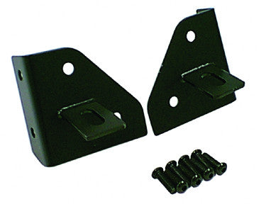 Rugged Ridge - Windshield Light Mounting Brackets - 76-95 Jeep CJ/Wrangler YJ (11027.01) - EZ Wheeler
