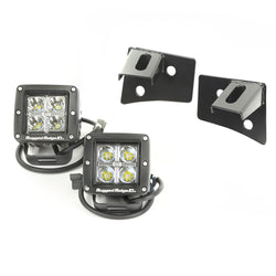 Rugged Ridge - Windshield Bracket LED Kit - 07-17 Jeep Wrangler JK (11027.10) - EZ Wheeler