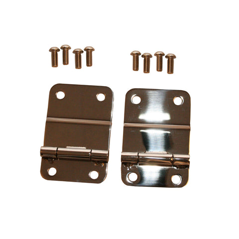 Rugged Ridge - Tailgate Hinges - 76-86 Jeep CJ Models (11114.01) - EZ Wheeler