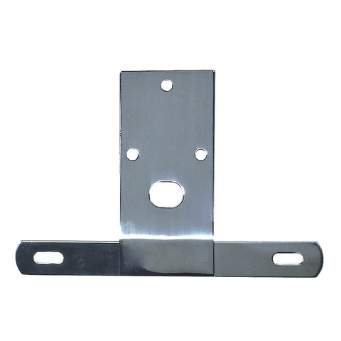 License Plate Bracket, Stainless Steel; 76-86 Jeep CJ Models - EZ Wheeler