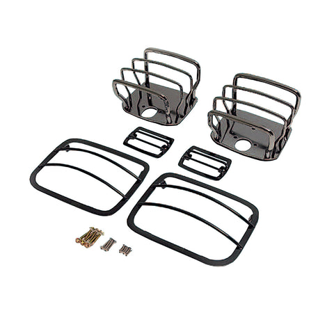 Rugged Ridge - Euro Guard Kit - 87-95 Jeep Wrangler YJ (11180.06) - EZ Wheeler