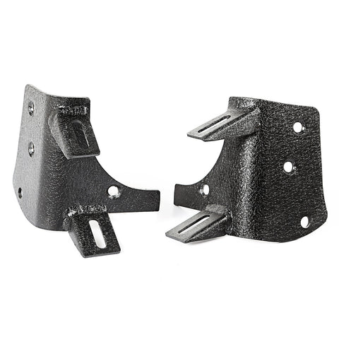 Rugged Ridge - Dual A-Pillar Light Mount - 97-06 Jeep Wrangler TJ/LJ (11232.36) - EZ Wheeler