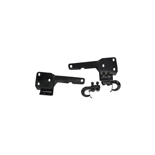 Rugged Ridge - Tow Hooks and Frame Brackets - 84-01 Jeep Cherokee XJ (11236.05) - EZ Wheeler