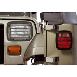 Rugged Ridge - Stone Guard Set - 87-95 Jeep Wrangler YJ (11236.20) - EZ Wheeler