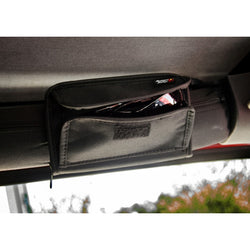 Rugged Ridge - Sunglass Holder/Storage Pouch - 55-17 Jeep CJ/Wrangler YJ/TJ/JK (12101.52) - EZ Wheeler