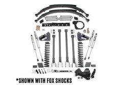 "BDS Suspension - 6"" 4-Link Arm Suspension Lift Kit - 17 Ford F250/F350 (1527H)"