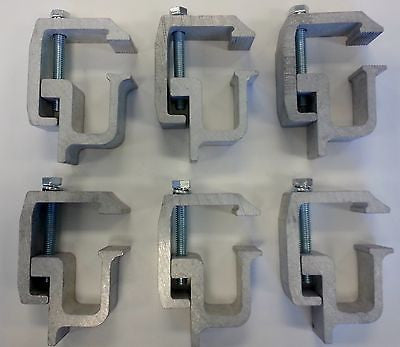 Tite-Lok - 6 Heavy Duty Truck Cap Mounting Clamps (TL2002-6) - EZ Wheeler