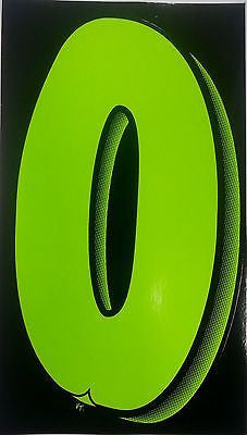 Versa Tag - Green Vinyl Car Dealer Window Sale Numbers - EZ Wheeler