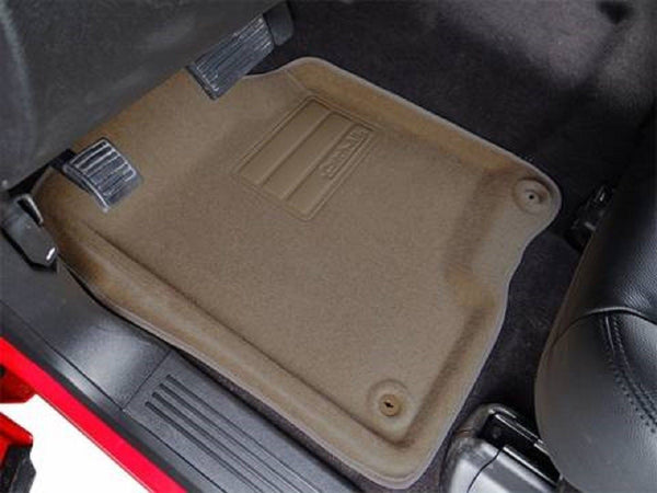 602146 Lund Nifty 2 piece truck carpet floor mats liners ford F-150 97-03 Tan - EZ Wheeler
