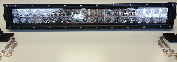 Double Row 20 Inch LED Light Bar, 120 Watt Combo beam - EZ Wheeler