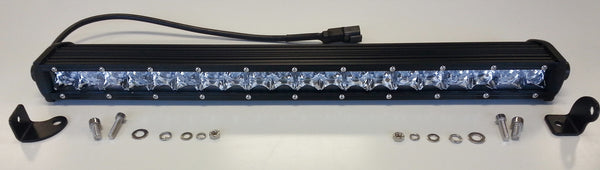 CTI - Single Row 24 Inch LED Light Bar (S01S-100W) - EZ Wheeler