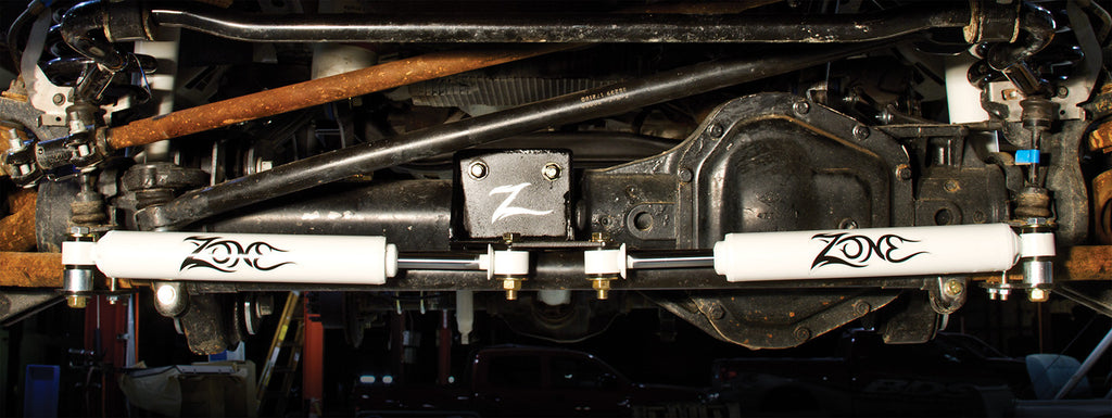 Zone Off Road - Dual Steering Stabilizer Kit
