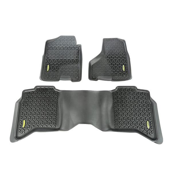 Outland - Floor Liner Kit Front/Rear - 09-15 Ram 1500/2500/3500 (398298942) - EZ Wheeler