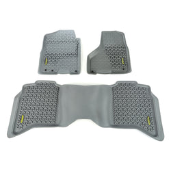 Outland - Front/Rear Floor Liner Kit - 09-15 Ram 1500/2500/3500 (398498942) - EZ Wheeler