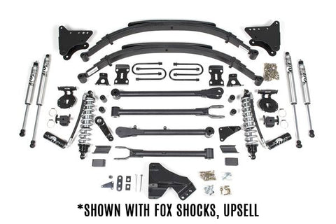 "BDS Suspension - 4"" Coil-Over Conversion 4-Link Suspension Lift Kit - 11-16 Ford F250/F350 (590F)"