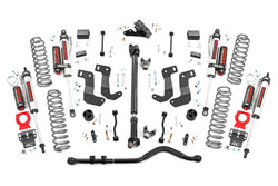 Rough Country - 3.5in Jeep Suspension Lift Kit | Stage 2 | Coils & Control Arm Drop (18-19 Wrangler JL Unlimited)(65450)