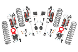 Rough Country - 2.5in Jeep Suspension Lift Kit | Springs & Vertex Shocks (18-19 Wrangler JL Rubicon)(66650)