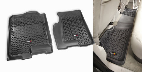 Outland - Front/Rear Floor Liner Kit - 99-06 Chevy/GMC (398298902) - EZ Wheeler