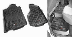 Outland - Front/Rear Floor Liners Kit - 02-14 Dodge Ram 1500/2500/3500 (398298940) - EZ Wheeler