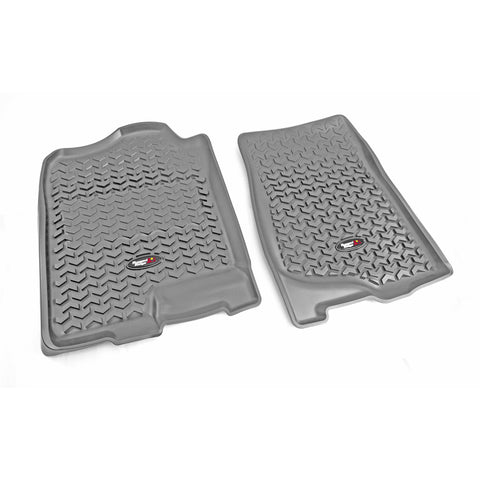 Outland - Front Floor Liners - 07-14 Chevy/GMC (398490101) - EZ Wheeler