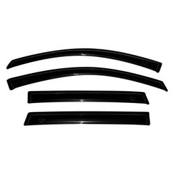 AVS - 4pc Tape On Ventvisors 2011-2018 Jeep Grand Cherokee 4 dr - (94252) - EZ Wheeler