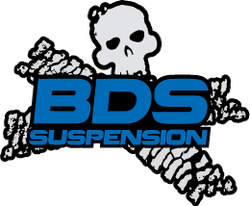 BDS Suspension - 00-01 Ford F250/350 6&8in Front Box Kit - EZ Wheeler