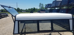 Travelite - Used 6.5' Aluminum Cab High Camper shell topper - 94-01 Dodge Ram S/B (EZI01)