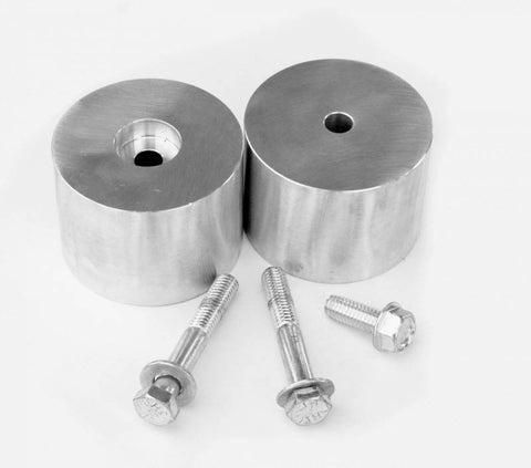 "JKS - 2"" Aluminum Bump Stop Extension spacer Kit (1120) - EZ Wheeler"