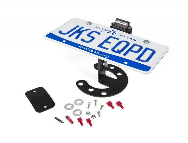 JKS - Spare Tire License Plate Mount - Jeep JK/TJ/YJ (8211) - EZ Wheeler