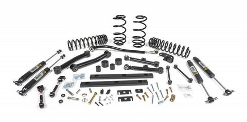"JSPEC - 3"" Suspension System - 03-06 Jeep Wrangler TJ (116K) - EZ Wheeler"