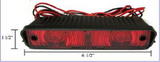 American Tech - Truck Cap Third Brake Light Red for Leer ARE Century (LB315) - EZ Wheeler