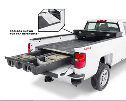 "DECKED™ Drawer System (DG9) FITS 19-21 GM Sierra or Silverado 8 Foot 1500- New ""wide"" bed width"
