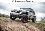 "18-20 Wrangler JL 2"" Suspension System Zone Offroad J30N"