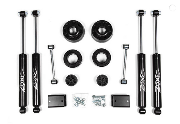 "2"" Suspension System Zone Offroad J30N FITS 18-20 Wrangler JL"