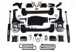 "19-20 Chevy/GMC Silverado/Sierra 1500 Trucks 4"" Suspension Systems Zone Offroad C42N"