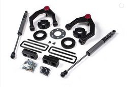"19-20 Chevy/GMC Silverado/Sierra 1500 3.5"" Adventure Series Lift System Zone Offroad C47N"