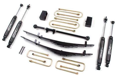 "Zone Offroad - 4"" Suspension System Lift Kit - 00-05 Ford Excursion 4WD (F11N)"
