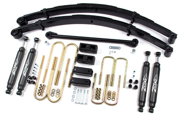 "00-05 Ford Excursion 4WD 6"" Suspension System Zone Offroad (F3N)"