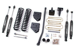 "05-07 Ford F250/F350 4"" Suspension System Zone Offroad (F5N/F13N)"