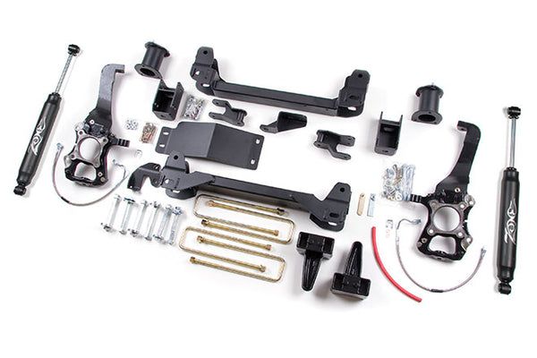 "04-08 Ford F150 4WD 6"" Suspension System Zone Offroad (F7N)"