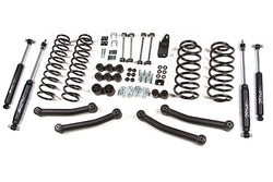 "97-06 Jeep Wrangler TJ 4"" Suspension System Zone Offroad (J10N/J11N)"
