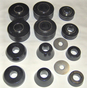 Daystar 66-79 Ford cab body mount bushing black