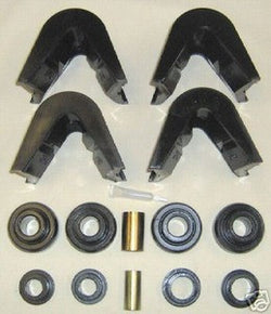 66-79 14 pc. Ford C-bushings F-series truck Bronco black - EZ Wheeler