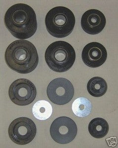 80-96 Ford 2wd 4wd truck body cab bushings F100-350 in Black - EZ Wheeler