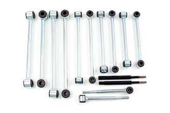 BDS Suspension - 73-87 Chevy 6-8in Frt Sway Bar Links - EZ Wheeler