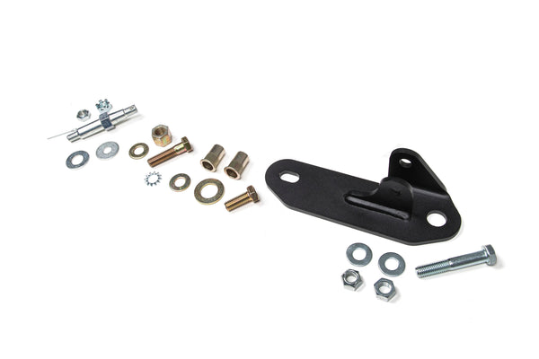 BDS Suspension - Single Steering Stabilizer Bracket - 15-17 Chevy/GMC 2500/3500 (55379) - EZ Wheeler